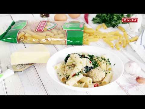 MAKFA | Мамины рецепты | Макароны с фрикадельками