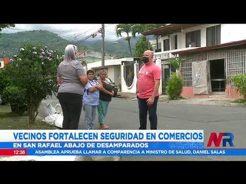 San Rafael Abajo en Desamparados tendrá su propio centro de monitoreo ciudadano