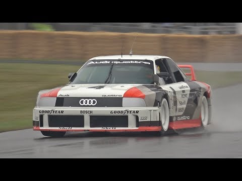 2019 Goodwood Festival of Speed Day 4 Highlights! Audi Quattro, F1, 2JZ Supra, FXX K EVO!