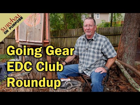 Going Gear EDC Club roundup