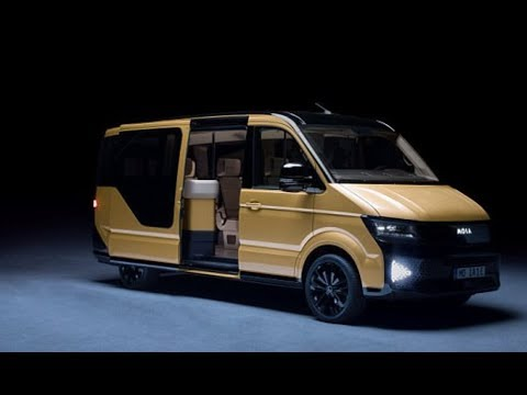 VW unveils electric minibus to aim at ride-pooling market