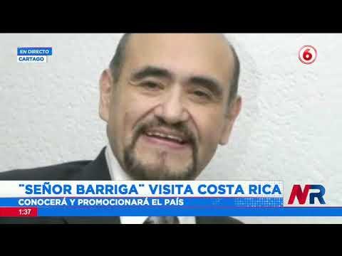 Señor Barriga visita Costa Rica