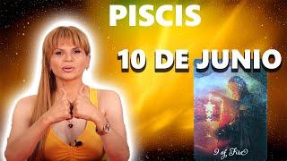 PREDICCIONES MHONI VIDENTE - Piscis horóscopo de hoy 10 de Junio 2021 - Extraña atracción