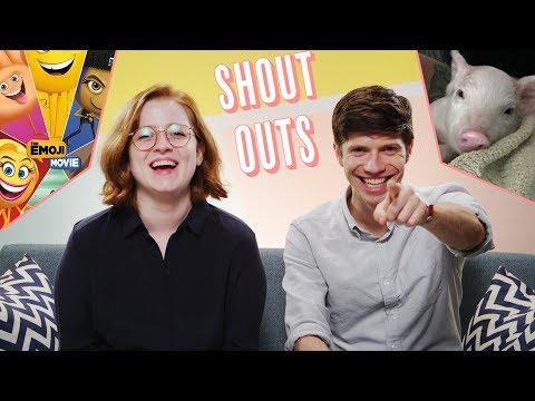 SHOUT-OUTS: Sponges, Piglets, and Top Comments | We've Got Questions