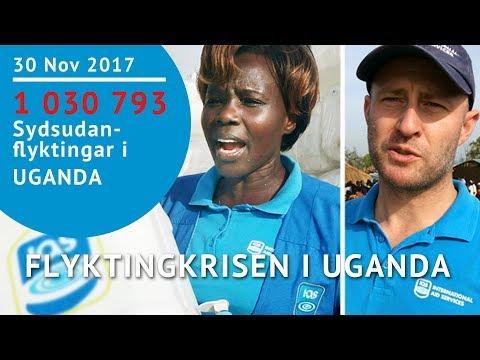 Flyktingkrisen i Uganda december 2016 - Andreas Zetterlund - Juliet Namukasa - James Mugisha