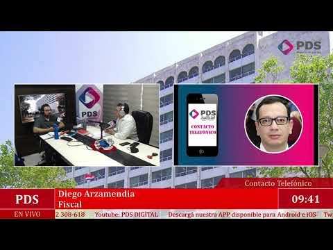 Estuvimos en comunicación con Diego Arzamendia - Fiscal