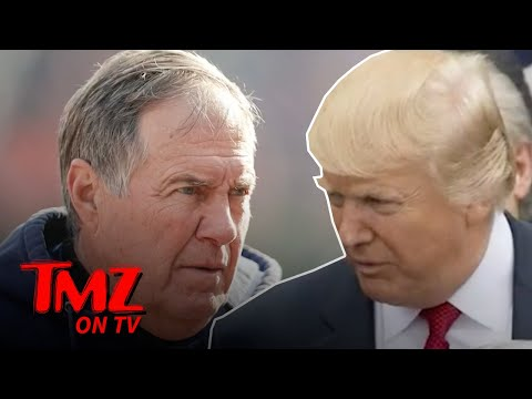 Bill Belichick Rejects Donald Trump's Presidential Medal Of Freedom | TMZ TV