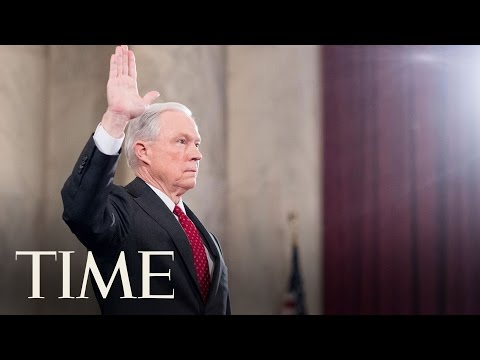 Senate Committee Holds Hearings On Donald Trump's Attorney General Pick Jeff Sessions   TIME