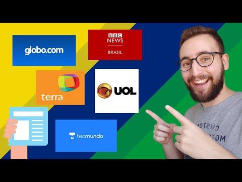 Os melhores sites de notícias em português | Vou Aprender Português