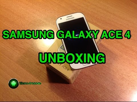 Samsung Galaxy Ace 4 - unboxing in italiano