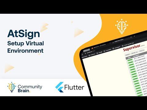 Configurando el ambiente virtual de The AtSign Company