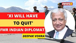 'Xi will have to quit, CCP end is nigh' | Indian Diplomat on Modi Ladakh Visit | NewsX - NEWSXLIVE