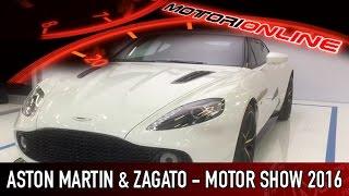 Aston Martin Vanquish Zagato al Motor Show di Bologna 2016