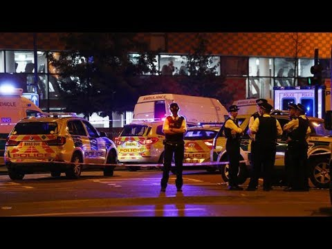 BREAKING NEWS: Van Hits Pedestrians in London, Possible Terror Attack