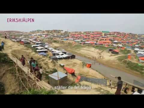 Läget är oacceptabelt för rohingyaflyktingarna.