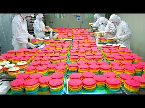 Процессы Производства Сладостей, Которые Вы Увидите Впервые в Жизни