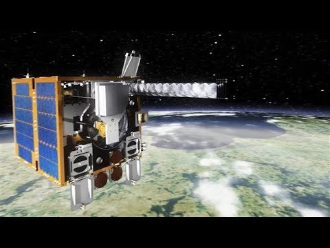Tackling Space Junk with a High-Tech Harpoon and Net