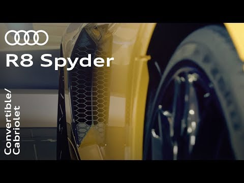 Audi R8 Spyder 2016: Making inspiration a reality