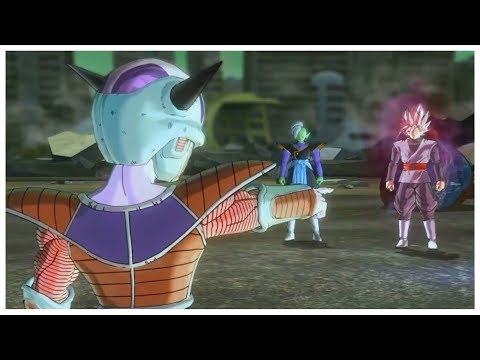 Dragon Ball Xenoverse 2 - Goku Black Pisses Off  Frieza | Story DLC