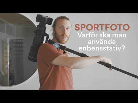 Sportfotografering - Varför ska man använda enbensstativ?