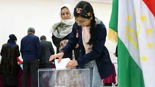 Итоги выборов Таджикистане