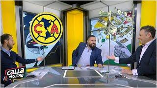 DE FRENTE Álvaro Morales le ofrece dinero a Ymay y Estrada por el América | Calla y Escucha