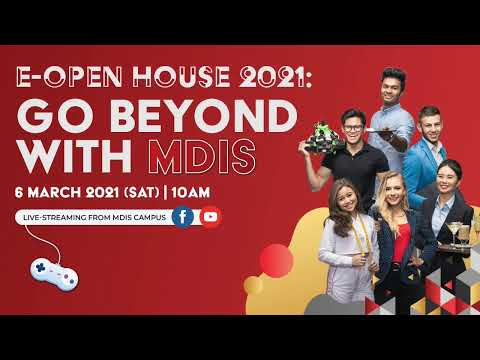 MDIS E-Open House 2021 - Transnational Education