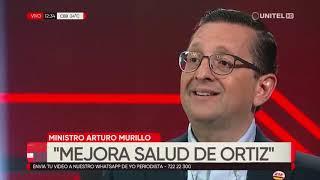 Murillo habló sobre el estado de salud de las autoridades contagiadas con Covid