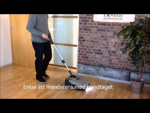 KBM Powermop - en liten men effektiv och ergonomisk städmaskin