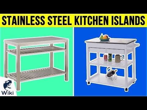 10 Best Stainless Steel Kitchen Islands 2019
