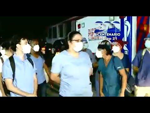 Médicos del HLMV exigen mejores condiciones laborales