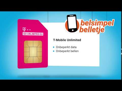 Belsimpel belletje van de week: T-Mobile Unlimited