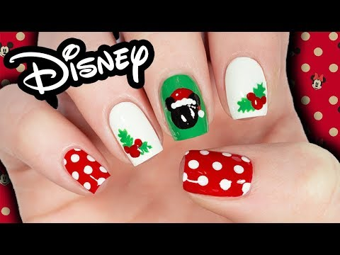 Disney: Mickey's Very Merry Christmas Nail Art!