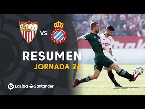 Resumen de Sevilla FC vs RCD Espanyol (2-2)