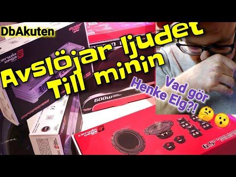 Helgvlogg - Avslöjar ljudet till Minin, Henke Elg på besök & Hälsar på fan!