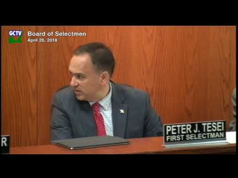 Board of Selectmen April 26 2018 Meeting