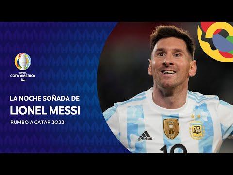 La noche emotiva de Messi contra Bolivia: Lo soñé, es un momento único