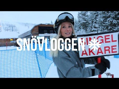Ellen Bergström raggar i backen l SNÖVLOGG 09