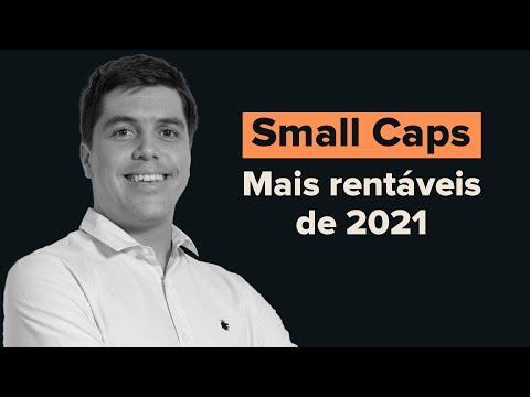 As Small Caps que mais se valorizaram em 2021