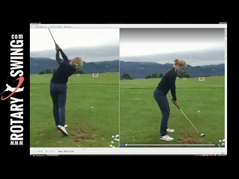 Daisy Nielsen Golf Swing | Powerful Golf Swing Release