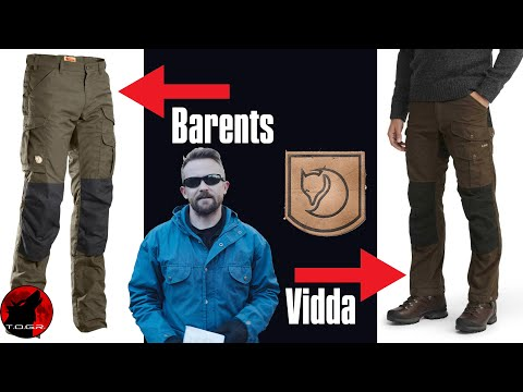 The Truth About Fjallraven : Fjallraven Barents Pro and Vidda Pro Pants Review