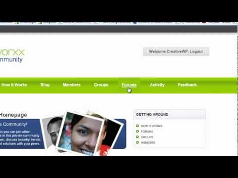 BuddyPress v152 TUTORIAL: Managing Forums | WordPress Toronto