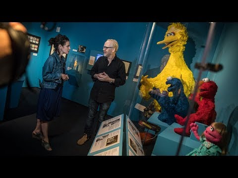 Adam Savage Tours the Jim Henson Exhibition!