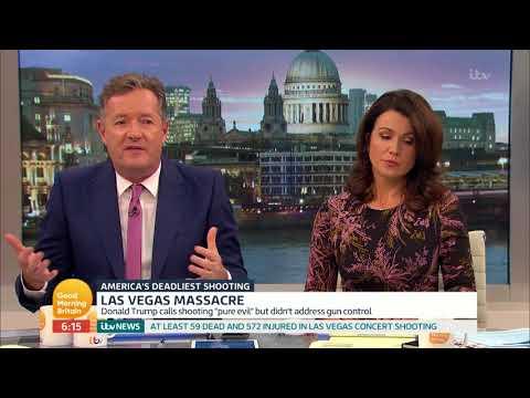 connectYoutube - Susanna Reid Reacts to the Las Vegas Massacre | Good Morning Britain