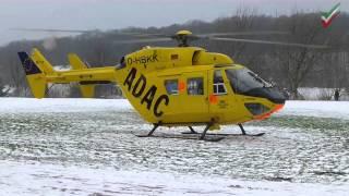 NRWspot.de | RTH Christoph Westfalen der ADAC Luftrettung GmbH im Schnee