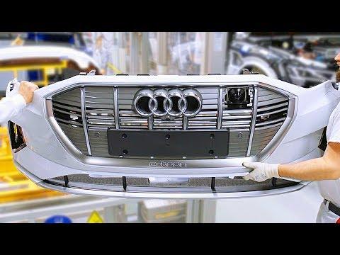Audi e-tron SUV Production Line ? German Car Factory