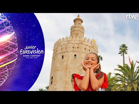VIDEOCLIP 'PALANTE' DE SOLEÁ: Making of   Eurovisión Junior 2020