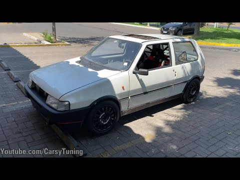 Fiat Uno BIG Turbo 280WHP aprox