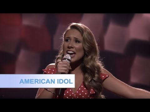 Haley Reinhart sings Rolling in the Deep | American Idol