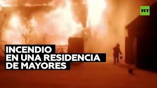 Investigan un incendio en un hogar de ancianos de Rusia que dejó siete muertos